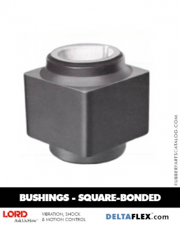 Rubber-Parts-Catalog-Delta-Flex-LORD-Bushings-Square-Bonded-Bushings