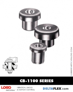 Rubber-Parts-Catalog-Delta-Flex-LORD-Center-Bonded-Mounts-CB-1100-Series