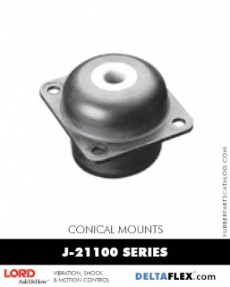 Rubber-Parts-Catalog-Delta-Flex-LORD-Conical-Mounts-J-21100-Series