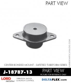 Rubber-Parts-Catalog-Delta-Flex-LORD-Corporation-Vibration-Control-Center-Bonded-Mounts-J-18787-13