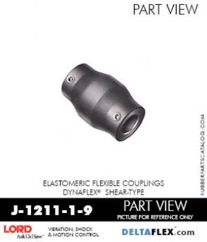 RUBBER-PARTS-CATALOG-DELTAFLEX-Vibration-Isolator-LORD-Dynaflex-Shear-Type-Couplings -Coupling-J-1211-1-9