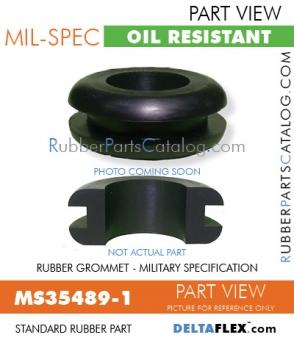 Rubber Grommet | Mil-Spec | MS35489-1
