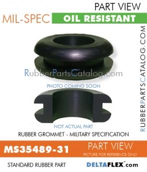 MS35489-31 | Rubber Grommet | Mil-Spec
