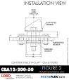 Rubber-Parts-Catalog-Delta-Flex-LORD-Corporation-Vibration-Control-Center-Bonded-Mounts-CBA12-200-50