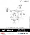 Rubber-Parts-Catalog-Delta-Flex-LORD-Corporation-Conical-Mount-J-21100-4