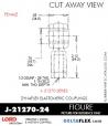 RUBBER-PARTS-CATALOG-DELTAFLEX-Vibration-Isolator-LORD-ROD-ENDS-J-21270-24