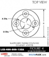 Rubber-Parts-Catalog-Delta-Flex-LORD-DYNAFLEX-Coupling-LCR-Type-LCR-400-800-135A