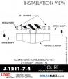 RubberPartsCatalog.com - LORD Corporation BinDynaflex Shear-Type Coupling - J-1211-7-4