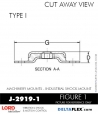 RUBBER-PARTS-CATALOG-DELTA-FLEX-LORD-CORPORATION-VIBRATION-ISOLATER-Machinery-Mounts-LATTICE-MOUNT-RUBBER-PARTS-CATALOG-DELTA-FLEX-LORD-CORPORATION-VIBRATION-ISOLATER-Machinery-Mounts-Industrial-Shock-Equipment-MOUNT-J-2919-1