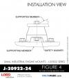 RUBBER-PARTS-CATALOG-DELTAFLEX-Vibration-Isolator-LORD-Small-Industrial-Engine-Mount-J-20922-Series-J-20922-24
