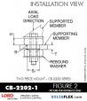 Rubber-Parts-Catalog-Delta-Flex-LORD-Corporation-Two-piece-mount-cb-2200-series-CB-2202-1