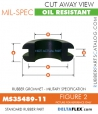 Rubber Grommet | Mil-Spec - MS35489-11