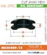 MS35489-12 | Rubber Grommet | Mil-Spec