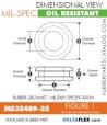 MS35489-25 Rubber Grommet   DeltaFlex