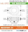 MS35489-31 Rubber Grommet | DeltaFlex