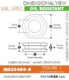 Rubber Grommet   Mil-Spec - MS35489-9